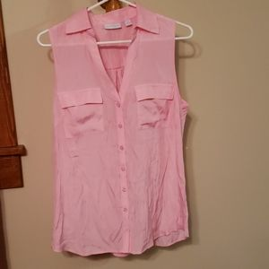 NWT cotton candy pink top